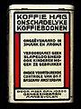 Groot wit blik van NV Koffie Hag Mij Amsterdam, foto 4.JPG