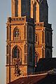 Grossmünster - Karlsturm - Quaibrücke 2010-09-11 19-27-54.JPG