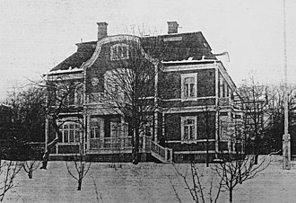 Prinsvillan, Djursholm - Prinsvillan, ca 1910