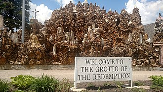 Grotto of the Redemption - Image: Grotto of the Redemption 001