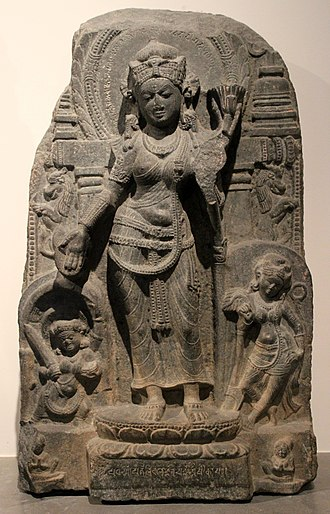 West Bengal - An example of the Pala-Sena school of sculptural art from Bengal