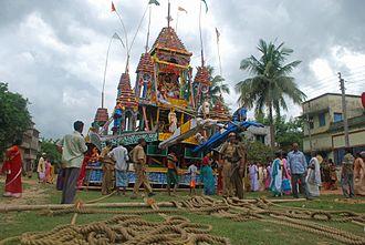 Guptipara Rathayatra - Image: Guptipara Rath