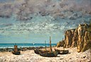 Gustave Courbet - Boats on a Beach, Etretat - 1972.9.7 - National Gallery of Art.jpg