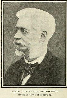 Gustave De Rothschild Wikipedia