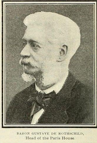 Gustave de Rothschild - Image: Gustave Rothschild