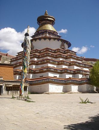 Kumbum - Exterior of the Gyantse Kumbum