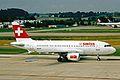 HB-IPT A319-112 Swiss Intl Al ZRH 19JUN03 (8541878294).jpg