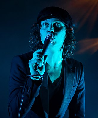 Ville Valo - Ville Valo performing in São Paulo, Brazil in March 2014