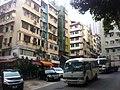 HK Sheung Wan morning 樂古道 Lok Ku Road walk-up tong lau carpark AM motorvan Nov-2011.jpg