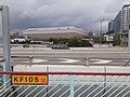 HK TST 尖沙咀東海濱 Tsim Sha Tsui East Waterfront Promenade 梳士巴利道 Salisbury Road footbridge view 紅磡 Hung Hom building March 2020 SS2 01.jpg