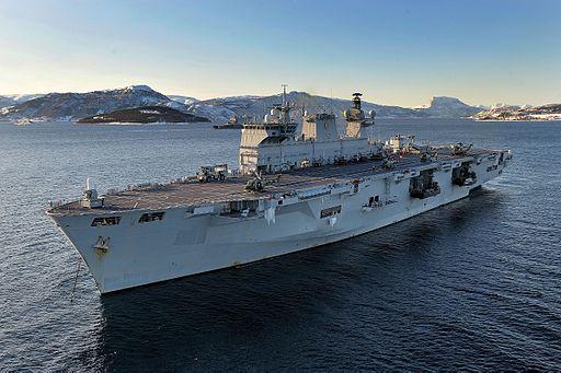 HMS Ocean MOD 45151277