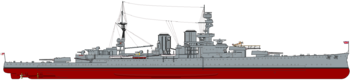 HMS Repulse (1919) profile drawing.png