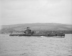 HMS Sceptre (P215) im April 1943