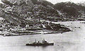 HMS Switsure enters HK 1945.jpg