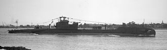 HMS Totem (P352) - Totem in September 1945. Her totem pole is the cross-like object on the forward part of the bridge