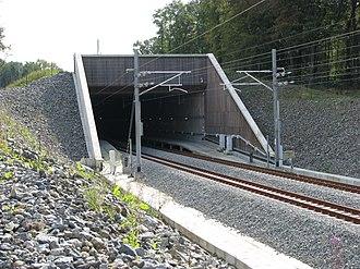 HSL 3 - Image: HSL3Walhorn Tunnel Eastern Portal