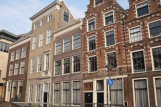 Damstraat, Haarlem - Image: Haarlem Damstraat noord met links Fundatiehuis