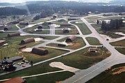 Hahn Air Base aerial shelters 1977
