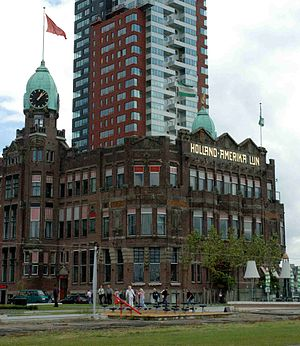 Holland America Line - Former head office of HAL in Rotterdam, now the Hotel New York