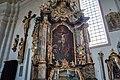 Halfing Pfarrkirche Mariä Himmelfahrt Kreuzaltar 2017 08 05.jpg
