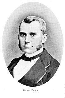 Halvor Schou Norwegian businessman