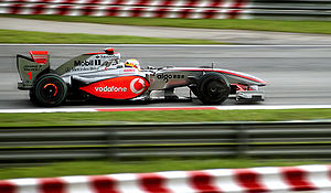 Lewis Hamilton at 2009 Malaysian Grand Prix, S...