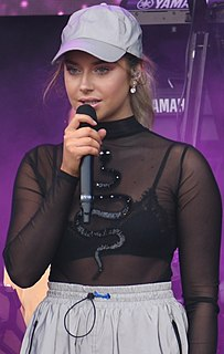 Hanna Ferm Swedish singer