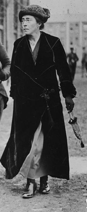 Hanna Sheehy-Skeffington - Image: Hanna Sheehy Skeffington in 1916