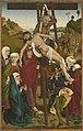 Hans Pleydenwurff - Hofer Altar, Kreuzabnahme Christi (Rückseite, Geburt Christi) - 664 - Bavarian State Painting Collections.jpg