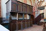 Hanstorf Kirche Loge mit den Wappen von Barner.jpg