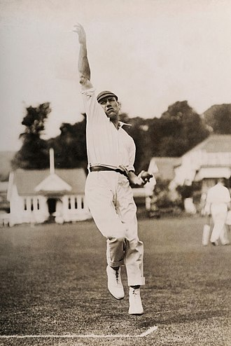 Harry Dean (cricketer) - Dean in 1920