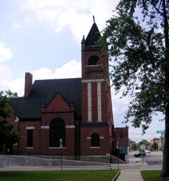 Hartford City, Indiana - Hartford City's Presbyterian Church