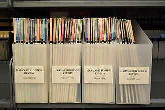 Harvard Business Review - Some issues of Harvard Business Review.