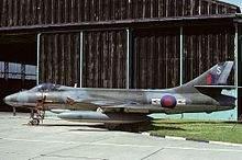 Photograph of a Hawker Hunter aircraft