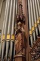 Heilige Ambrosius in orgelfront OLV Onbevlek Ontvangen, Overveen.jpg