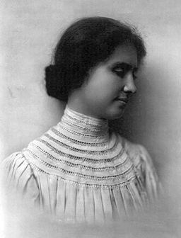 Die taubblinde Philosophin Helen Keller