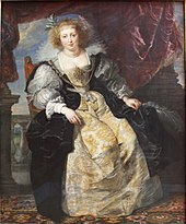 Helene Fourment in her Bridal Gown by Rubens (1630) - Alte Pinakothek - Munich - Germany 2017.jpg