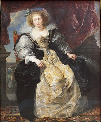 Helena Fourment - Image: Helene Fourment in her Bridal Gown by Rubens (1630) Alte Pinakothek Munich Germany 2017