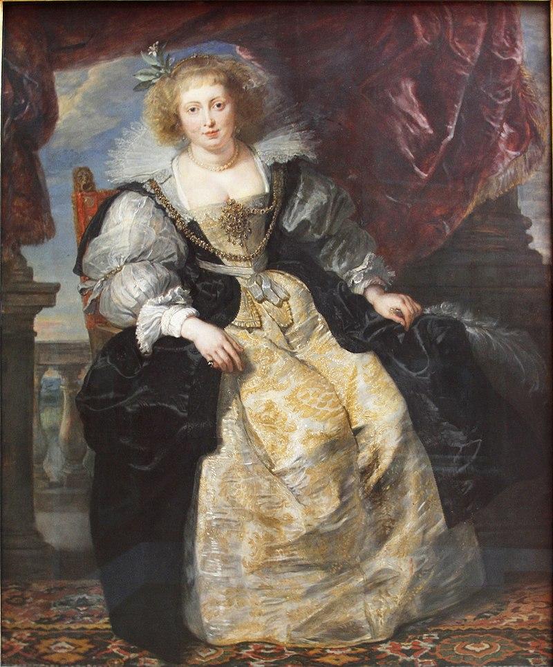 Helene Fourment in her Bridal Gown by Rubens (1630) - Alte Pinakothek - Munich - Germany 2017.jpg