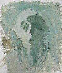 Helene Schjerfbeck - Omakuva, valoa ja varjoa (1945).jpg