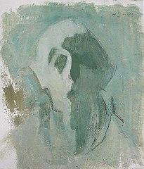 Green Self-Portrait \