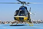 Helicóptero da PRF decola da sede estadual da instituição em Curitiba (37088680442).jpg