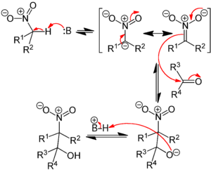 Nitroaldol reaction - Henry Reaction Mechanism