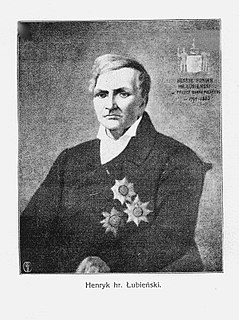 Henryk Łubieński Polish businessman