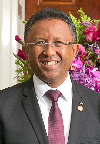 Hery Rajaonarimampianina - Image: Hery Rajaonarimampianina 2014