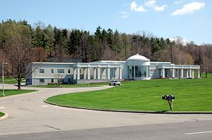 Cumorah - Visitor center of the Church of Jesus Christ of Latter-day Saints at Hill Cumorah (New York)