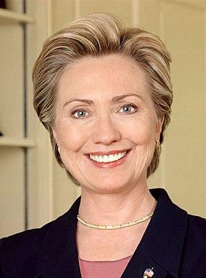 Hillary Rodham Clinton, United States Senator.