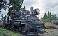 Hillcrest Lumber Company steam locomotive 1 Shay at Forest Museum Duncan BC 16-Jul-1995.jpg