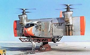 Hiller X-18 - Image: Hiller X 18 testplatform Large