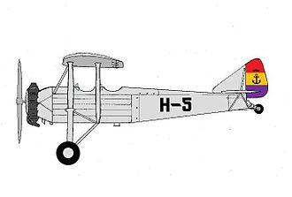 Hispano-Suiza E-30 - Hispano Suiza E-30 of the Aeronáutica Naval